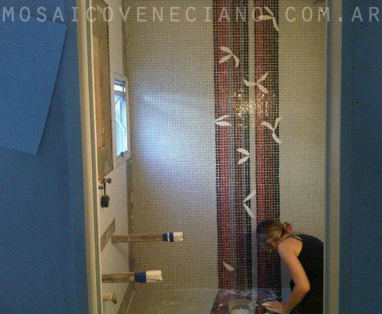 Decoracion De Baños Con Venecitas: con venecitas mural de venecitas paredes con venecitas pisos con