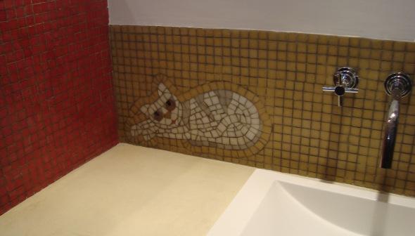 mural gatos